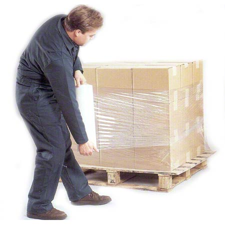 "Inteplast ""HC"" Series Pallet Stretch Film - 70 Gauge, 18"""