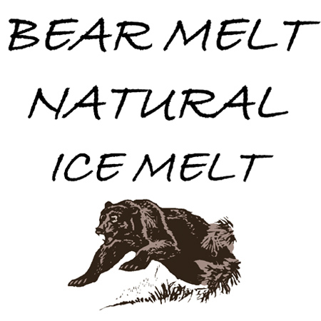 Bear Melt Natural Ice Melt - 50 lb. Bag