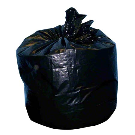 "Noramco™ Black Heavy Gauge ""T Bag"" - 33 x 39, XX-Heavy"