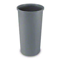 Rubbermaid® Untouchable® Round Container - 22 Gal., Gray