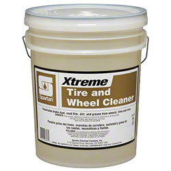 Spartan Xtreme Tire & Wheel Cleaner - 5 Gal.