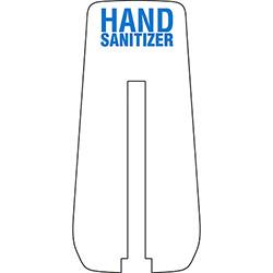 Spartan foamyiQ® Hand Sanitizer Back Plate
