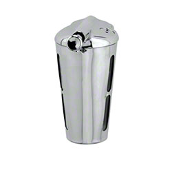 Continental 12 oz. Round Soap Dispenser - Chrome