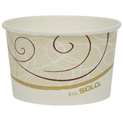 Solo® Symphony® VS Single-Sided Poly Paper Containers
