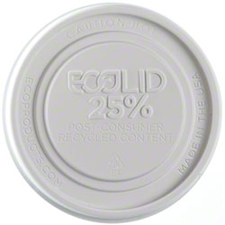 Eco-Products® EcoLid® 25% Recycled Food Container Lid