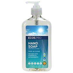 Earth Friendly Products® ECOS® PRO Free & Clear Handsoap - 17 oz. Pump