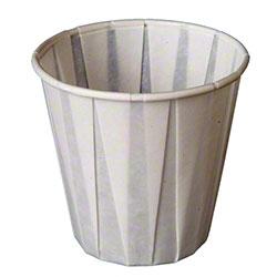 Genpak® Pleated Water Cup - 3.5 oz.