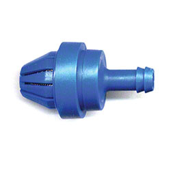 "Hydro® Foot Valve Assembly 1/4"" Barb Viton Blue"