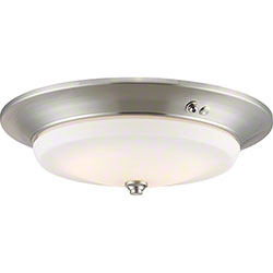 Nuvo® LED EMR Flush Brushed Nickel Light