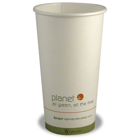 Stalkmarket Planet +® Compostable Hot Cup - 20 oz.