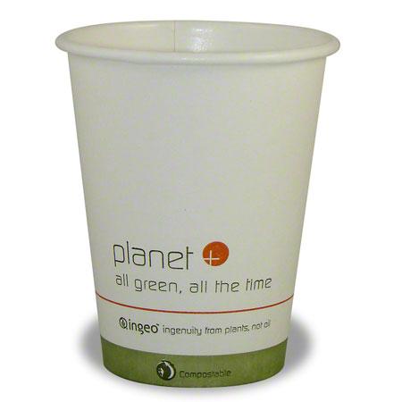 Stalkmarket Planet +® Compostable Hot Cup - 8 oz.