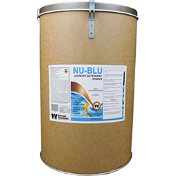 Warsaw Nu-Blu Laundry Detergent Powder - 100 lb. Drum