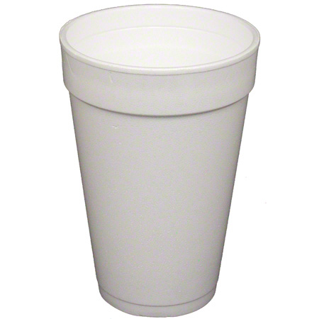 Convermex® White Foam Cup - 16 oz.