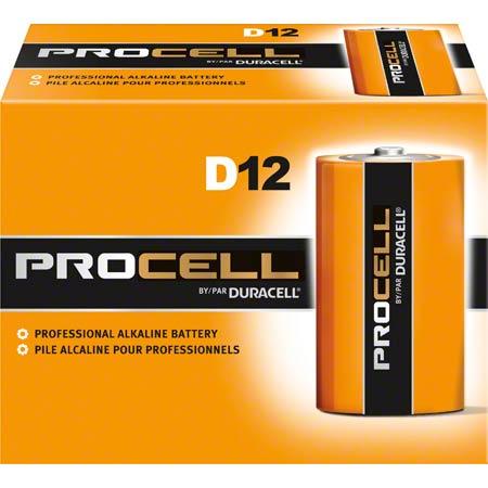 Duracell® Procell® Size D Alkaline Battery  - 1.5 Volt