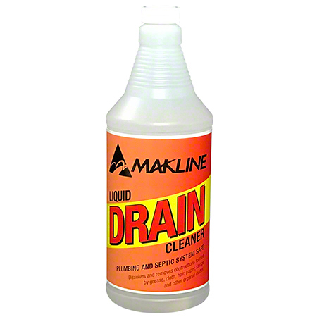 Makline Liquid Drain Cleaner - 32 oz.