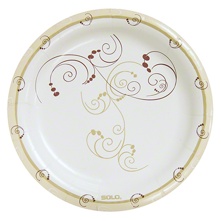 Bare® by Solo® Eco-Forward® Clay Coated Paper Plate-9""