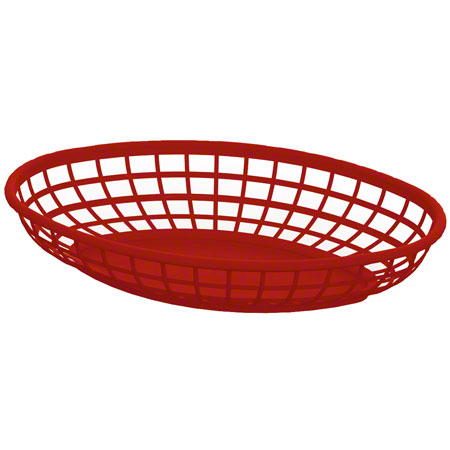 Impact® Oval Food Basket - Yellow