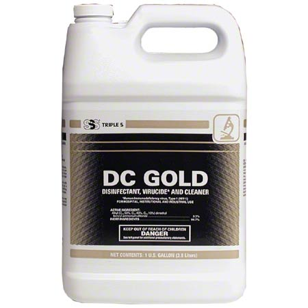 SSS® DC Gold Disinfectant Cleaner - Gal.