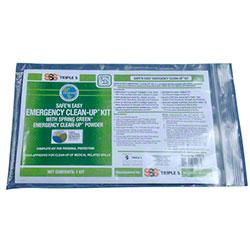 SSS® Safe 'N Easy Emergency Clean Up Kit
