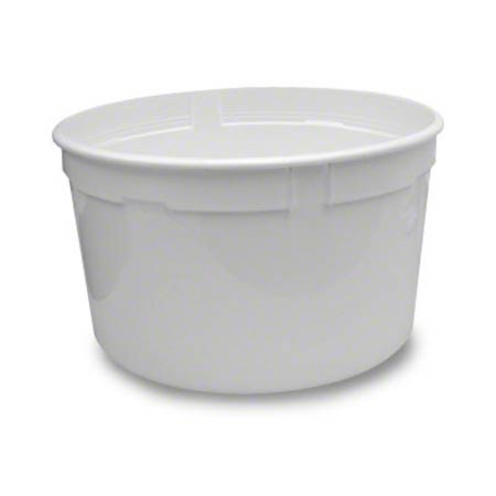 Berry Round Container wPlastic Handle Gal Midwest Maintenance