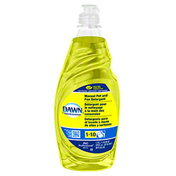 Dawn® Manual Pot & Pan Detergent - 38 oz., Lemon Scent
