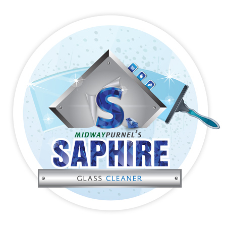 Saphire Glass Cleaner - 3.78 L