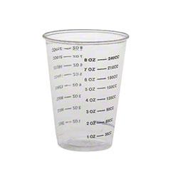 Solo® Plastic Medical/Dental Cup - 1 oz., Clear