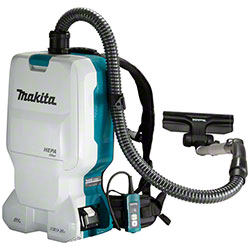 Makita® 18Vx2 LXT Brushless 6.0L Backpack Cleaner (Tool Only)