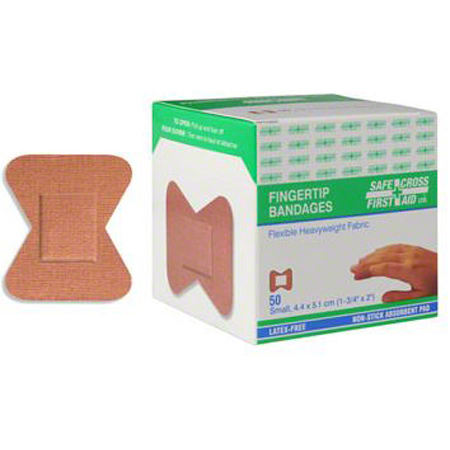 Fingertip Heavyweight Fabric Bandages - Small