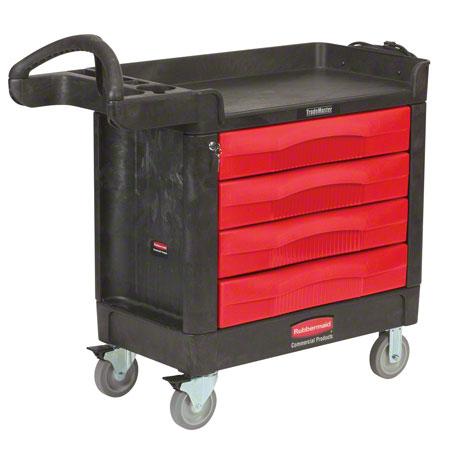 Rubbermaid® TradeMaster® 4 Drawer Cart