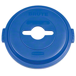Rubbermaid® Recycling Top - Single Stream, Blue