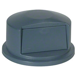 Rubbermaid® Commercial Vented Brute® Dome Top Lid - 32 Gal., Gray