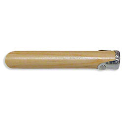 "Abco Screw Type Wood Handle - 60"" x 1 1/8"""