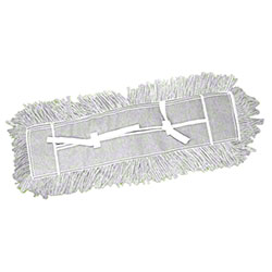 "Abco Helper Cut End Dust Mop - 24"" x 5"", White"
