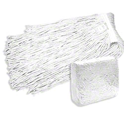 Abco 4 Ply White Rayon Cut-End Mop - 16 oz