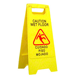 Abco Caution Wet Floor Folding Safety Sign
