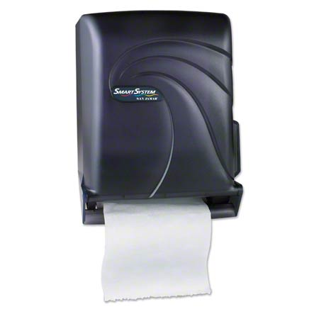 San Jamar® Smart System™ Touchless Towel Disp.-Black