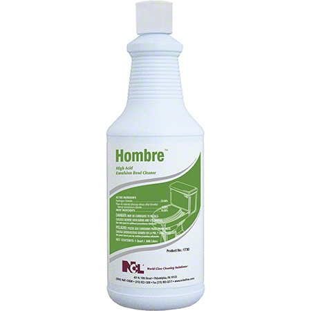 NCL® Hombre™ High Acid Emulsion Bowl Cleaner - 32 oz.