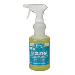 Buckeye® Grip & Go!® Bottle & Trigger Sprayer - Quat-64