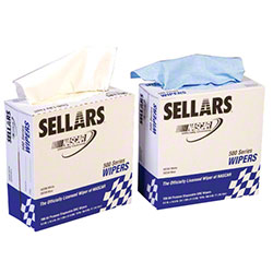 Sellars® Pop-Up DRC Wiper - White