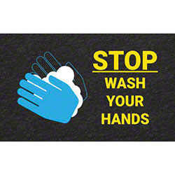 """Wash Your Hands"" Floor Sign - 17"" x 24"""