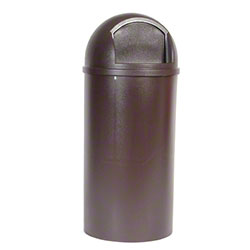 Marshal® Container - 25 Gal., Brown