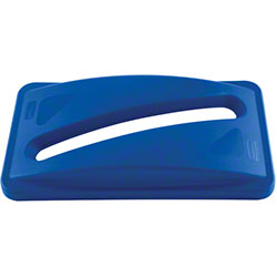 Rubbermaid® Slim Jim® Paper Recycling Top - Blue