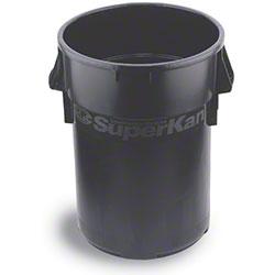 Continental Huskee™ Superkan™ Receptacle -44 Gal., Blk