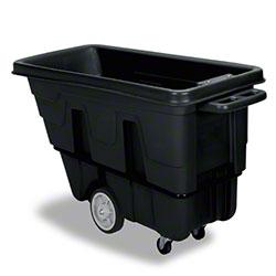 Continental 5/8 Cubic Yard Tilt Truck - Heavy Duty, Black