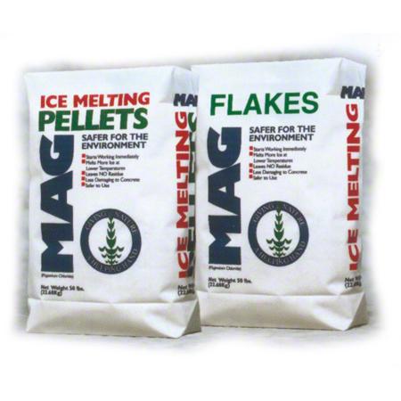 Norshel Ice Melt Magnesium Chloride Mix - 50 lb. Bag