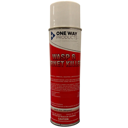One Way Insecticide Wasp & Hornet Killer - Net Wt. 13 oz.