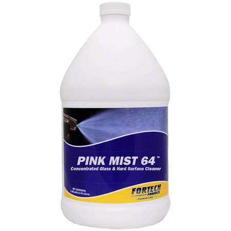 Fortech® Pink Mist 64™ Glass Cleaner - Gal.