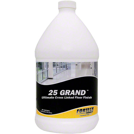 Fortech® 25 Grand™ Cross Linked Floor Finish - Gal.