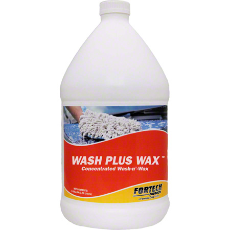 Fortech® Wash Plus Wax™ Concentrated Wash n' Wax - Gal.